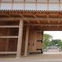 大手門内側から見た弘道館
