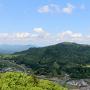 篝丸山(赤穴山)本丸からの眺望[提供:飯南町観光協会]