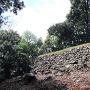 伝二の丸跡の石垣