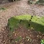 散在する石垣