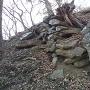 石積 搦手側