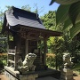 平山李重神社(平山城本丸跡)