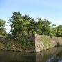 堀、石垣、御橋廊下、大天守