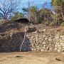 二の丸南側の石垣