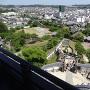掛川城天守からの眺め