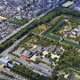 京都二条城上空俯瞰[提供:show-m / Adobe Stock]