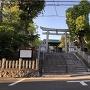 城址の尾陽神社