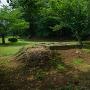 撤去された外構の井楼櫓跡