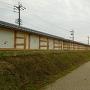 土塀(内側)