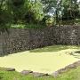 外堀にある慶長期の石垣