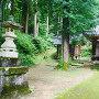 八幡社側の登城口