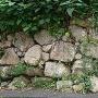 生活道路に残る石垣