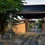 定徳寺山門