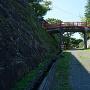渡雲橋と石垣