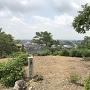 主郭 城址碑と眺望