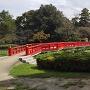 菖蒲沼と八つ橋