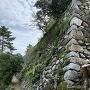 東側の石垣