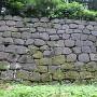 薪の丸東側の石垣