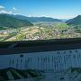 郭2の物見櫓からの眺望