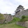 丸亀城① 本丸天守とそびえ立つ石垣