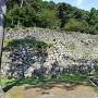 安土城④ 伝羽柴秀吉邸跡の石垣