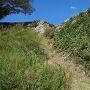 人質櫓跡の高石垣