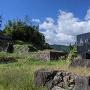美乃衆陣屋跡の石碑と埋門跡