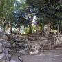 東埋門跡の石垣