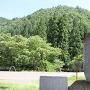 城址碑と城山