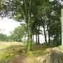 本丸の城趾石碑