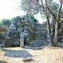 本丸石垣(東側)
