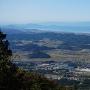 横山城~彦根の稜線