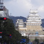 白鷺城(大手前通りから)