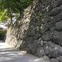 巨石石垣(復元)