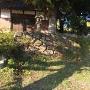 諏訪神社 石垣