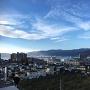 高島城小天守から見た諏訪湖