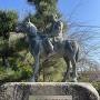 吉良上野介義央公 乗馬像