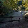 大門跡の空堀