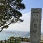 史蹟碑からの関門海峡