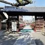 茨木神社の東門(茨木城の搦手門)