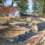 西櫓台の石段