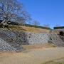 本丸南下の玉石垣