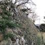 北側にある石垣