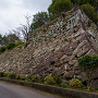 二の丸西隅の石垣