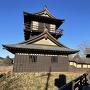 二層櫓と模擬冠木門