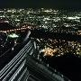 天守からパノラマ夜景