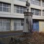 城址の小学校