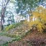 岡豊城の石垣