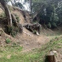 曲輪下の堀