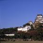 改修前の姫路城(三の丸広場から)[提供:姫路市]